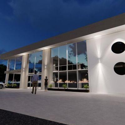 Sala Comercial com 2 Banheiros para Locação,  355 m² - Vila Nova - Barra Velha/SC