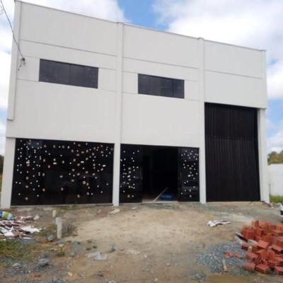 Galpão para alugar, 313 m² por R$ 3.500,00/mês - Itajuba - Barra Velha/SC