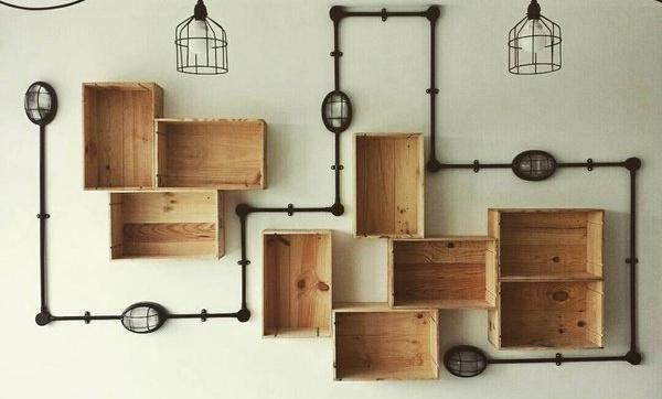 Dicas de decoração com caixotes de madeira