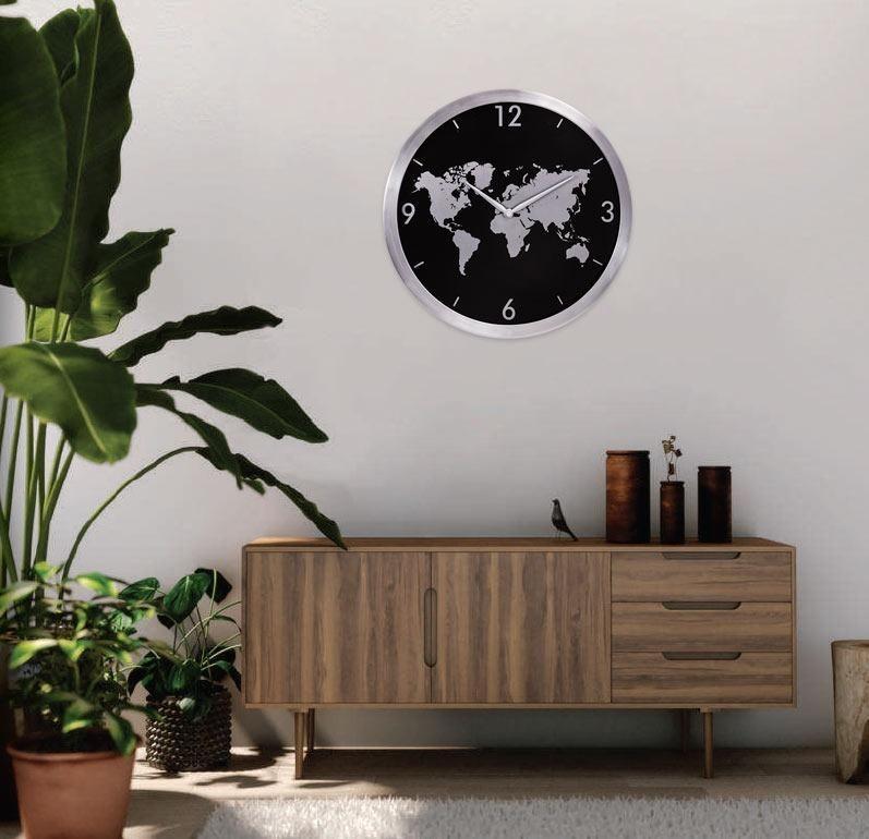 Relógios de parede na decoração de apartamentos