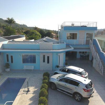 Casa de Alvenaria - Apartamento - Piscina - Budag