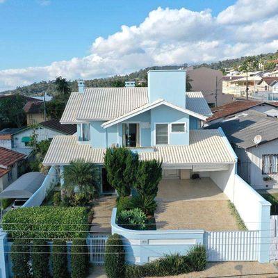 Casa de Alvenaria - Venda - Alto Padrão - Mobiliada - Santana - Rio do Sul