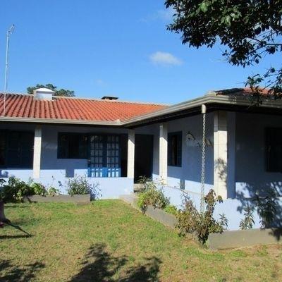Casa c/ 95,98m², 03 quartos, 400m do mar, amplo terreno. Balneário Itamar
