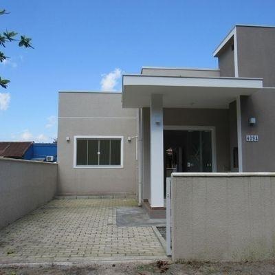 Casa nova c/ 02 quartos e 57,91m², no Balneário Recanto do Farol