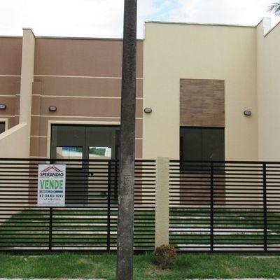 Casa nova c/ 49,12m², 2 quartos, Balneário Itapoá