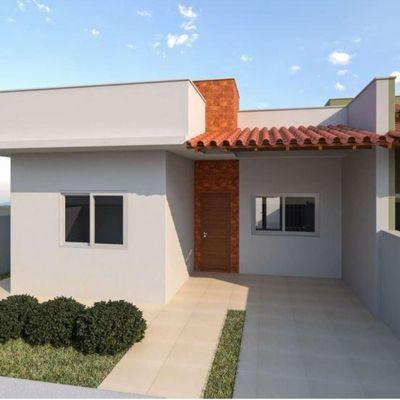 Casas novas c/ 90m², suíte + 02 quartos - Balneário Itapoá