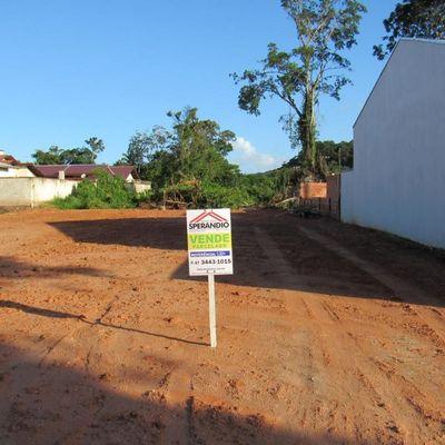► Terreno pronto p/ construir c/ 192m² ( 8x24m), Balneário Itapoá/SC - Entrada de R$ 6.990,00 + 120x