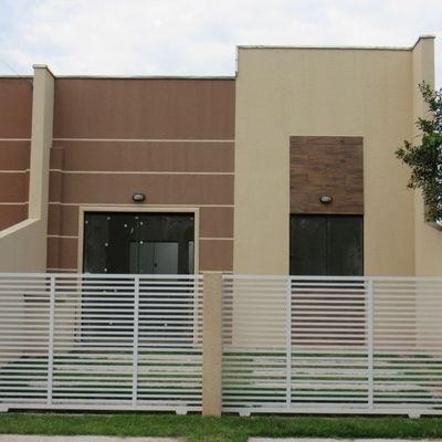 Casa nova c/ 45m², 2 quartos, Baln. Itapoá, R$140.000,00
