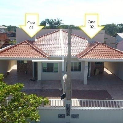 Casa nova c/3 dormitórios, R$280.000,00 próx. à Panif. Don Rodolpho