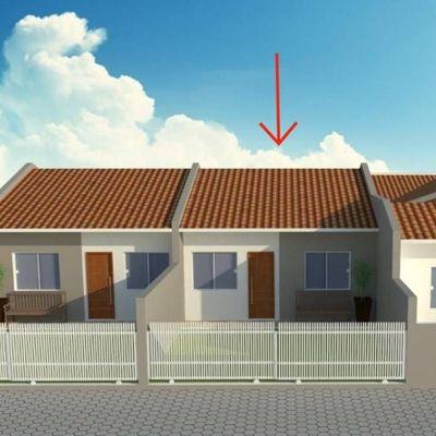 ► Casa c/ 01 suíte + 01 quarto, 55,64m² - Balneário Alvorada R$ 165.000,00