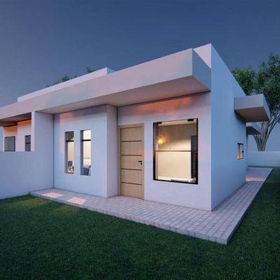 Casa c/ 72,66m², 01 suíte + 02 quartos, terreno nos fundos - Baln. São José