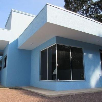 Casa nova para Locação Mensal, 1 suíte c/ closet + 2 quartos, Baln. Itapoá