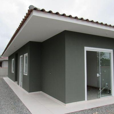 Casa nova, 59m², c/ 2 dormitórios, próx. Rua 1530. Balneário Itapoá