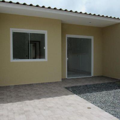 Casa nova c/42,75m², 2 dormitórios. R$125.000,00, na Região do Porto