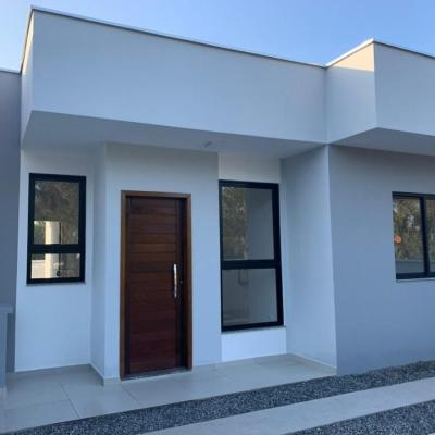 Casa c/62,11m², 1 suíte+2 quartos, 300m do mar, R$198.000,00, Mariluz