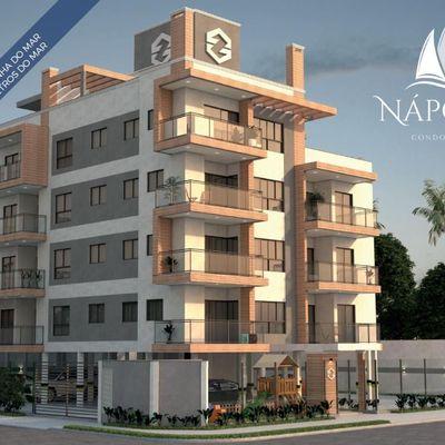 Residencial Nápoles! Apartamentos c/ 02 ou 03 quartos, 250m do mar - Baln. Rainha