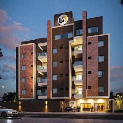 Lançamento! Apartamentos c/ 1 suíte + 1 quarto na Av. das Margaridas - Lot. São José
