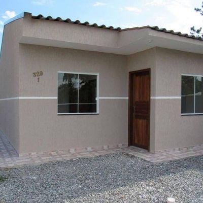 Casa de esquina c/ 42m², 2 quartos - Lot. Jd Verdes Mares, R$ 109.000,00 ou Entrada + 180x