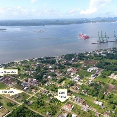 Terreno de esquina, limpo, aterrado c/ 288m² (12x24m), Baln. Bahama's I
