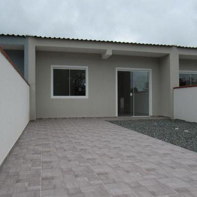 Casa c/49,35m², amplo terreno livre, próx. Rua 1000 -  Baln. Jd da Barra