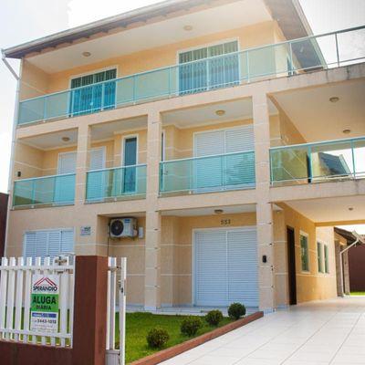► Sobrado c/ 302m², 06 dormitórios, próx. Imobiliária Sperandio, 250m do Mar - Itapema do Norte