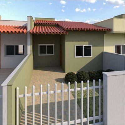 Casas novas c/ 58m², 02 quartos - Balneário Itapoá, R$ 179.900,00