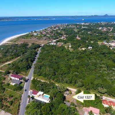 Terreno c/ 450m² no Balneário Rosa dos Ventos, 250m do mar - Avalia aceitar carro