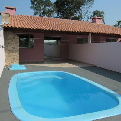 Casa nova c/ 2 quartos + piscina, 500m do mar. Baln. Princesa do Mar