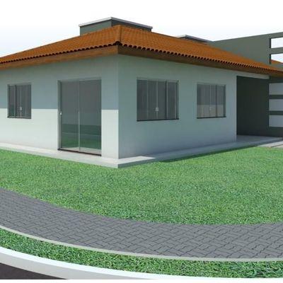 Casa de esquina c/ 91,25m², 01 suíte + 02 quartos, Baln. Itapoá