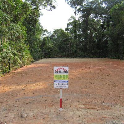► Lote parcelado c/ 240m² (7,50x32m), limpo e aterrado, Rua Ouro Preto - Balneário Itapoá
