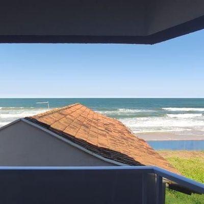 Apartamento p/ temporada c/ 1 suíte + dois quartos - Linda Vista para o Mar!
