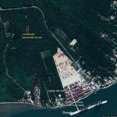 ► Lote para investimento c/ 375m², região do Porto Itapoá