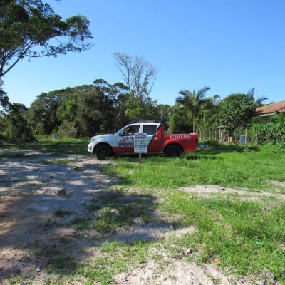 Terreno c/144m² (8x18m), face sul, Rua 2070, Balneário Imperador