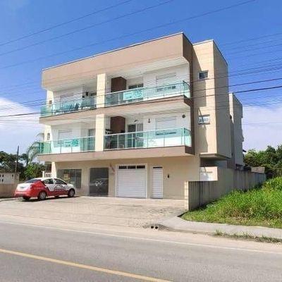 Apartamento c/ 1 suíte + 1 quarto - Locação Mensal no Balneário Palmeiras
