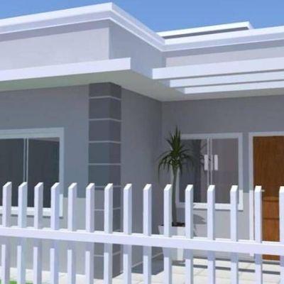 Casa c/ 50,22m² , 1 suíte + 1 quarto no Balneário Princesa do Mar