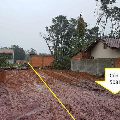Terreno parcelado! Limpo e aterrado c/ 192m², Entrada de R$5.700,00 + 120x.  - Balneário Palmeiras