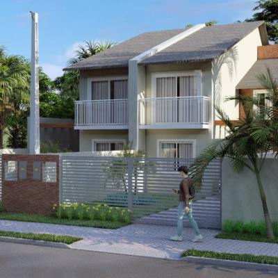 Casa térrea com projeto para ampliação no Balneário Brandalize