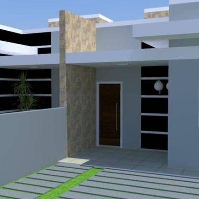 Casa com 56,32m² no Balneário Rio Gracioso