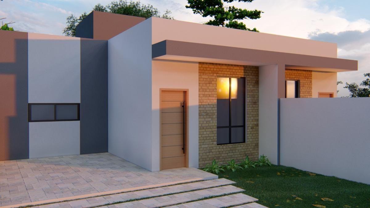 Lançamento! Casas novas com 79,88m² no Balneário Itapoá