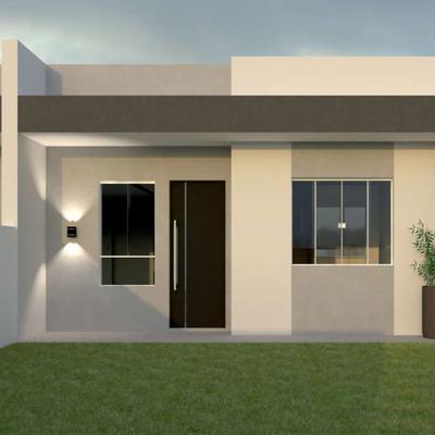 Casa c/ 02 quartos e amplo terreno nos fundos, Lot. São José, R$199.000,00