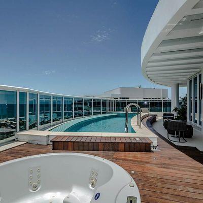 Cobertura no Edifício Brava Home Resort, na Praia Brava