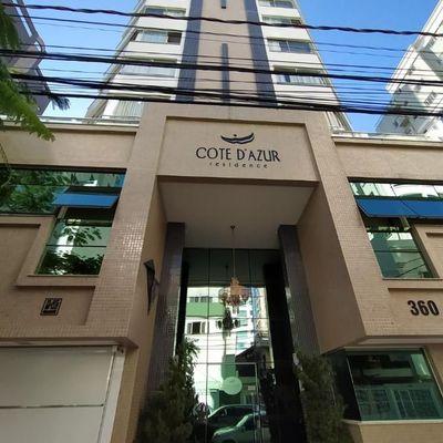 Edifício Cote D'Azur, em Balneário Camboriú