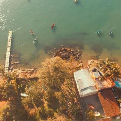 Terreno Frente Mar à Venda na Praia do Caixa D' Aço em Porto Belo
