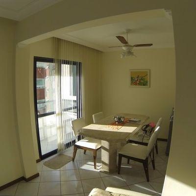 Apartamento com Vista Mar, Mobiliado e 1 Vaga