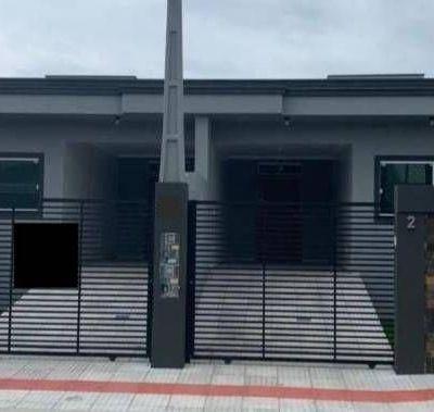 Casas geminadas no bairro Dom Bosco em Itajaí SC