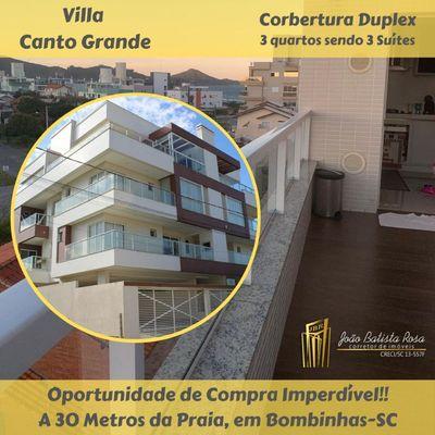 COBERTURA DUPLEX Nº 204 - PARA VENDA PRAIA CANTO GRANDE