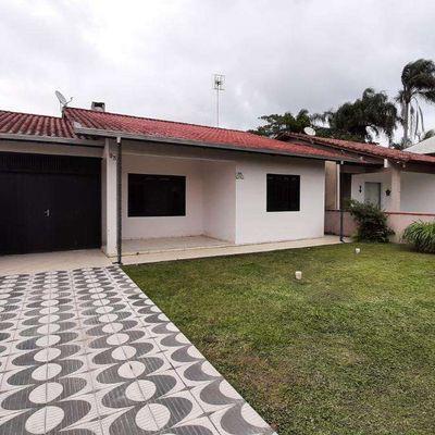 Casa com 4 quartos sendo uma suíte com hidro na Barra do Sai