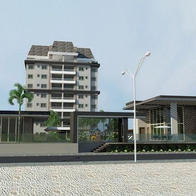 Lançamento! COBERTURA Frente Mar, Edifício OCEAN CASTLE Home Club no Balneário Princesa do Mar
