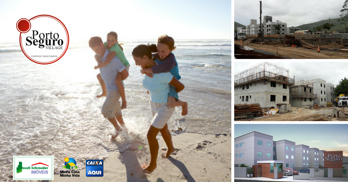 Obras do empreendimento Porto Seguro em Camboriú estão a todo vapor