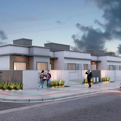 Ótima Casa MCMV - 2 Qts - Espinheiros - Itajaí/SC
